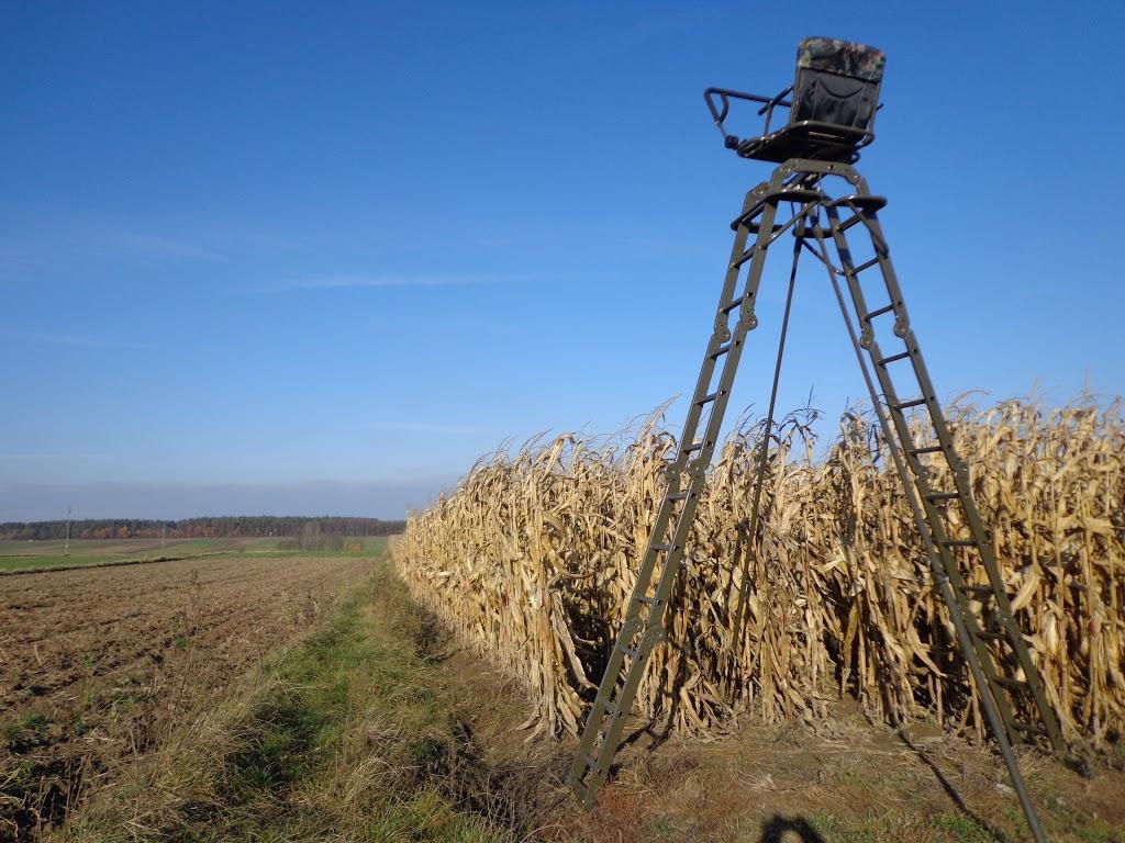 Oryginał Ambony teleskopowe - Ambony dla myśliwych, fotografów i miłośników PS52
